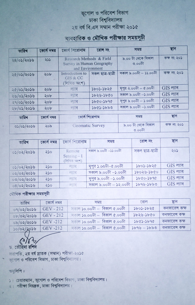 Notice-2016-1-17-2nd Year Practical Examination- 2015